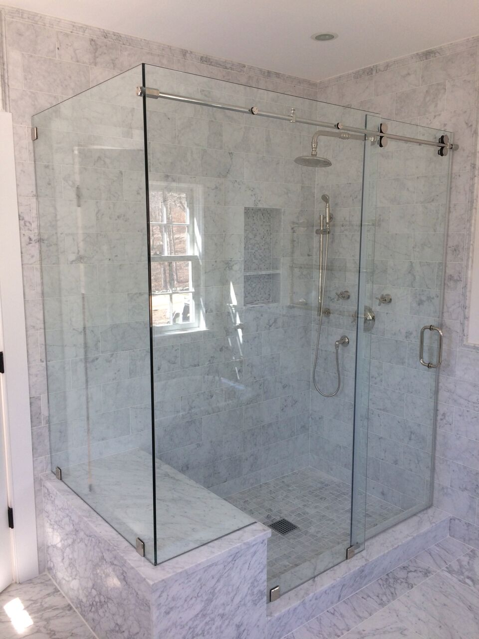 Shower Glass Gallery Falmouth Glass Mirror Co Inc